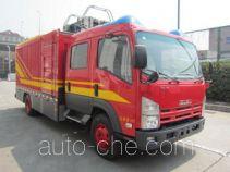 捷达消防牌SJD5100TXFDF07/W型水带敷设消防车