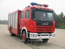 捷达消防牌SJD5100TXFJY100H型抢险救援消防车