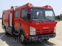Jieda Fire Protection SJD5101GXFPM35/W foam fire engine