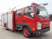 捷达消防牌SJD5101GXFPM35/WSA型泡沫消防车