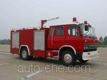 苏捷牌SJD5110GXFPM45型泡沫消防车