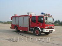 苏捷牌SJD5110TXFJY100F型抢险救援消防车