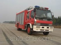 Jieda Fire Protection SJD5110TXFJY100W fire rescue vehicle