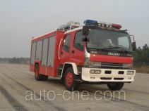 捷达消防牌SJD5111TXFJY100W型抢险救援消防车