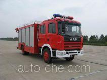 捷达消防牌SJD5120TXFJY100H型抢险救援消防车