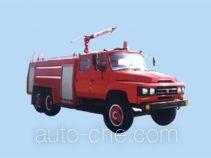 苏捷牌SJD5130GXFPM60型泡沫消防车