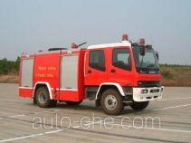 苏捷牌SJD5140GXFAP50W型泡沫消防车