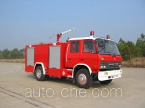 苏捷牌SJD5140GXFPM50D型泡沫消防车
