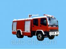 苏捷牌SJD5140GXFPM50W1型泡沫消防车