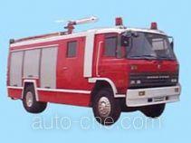苏捷牌SJD5140GXFPM55型泡沫消防车