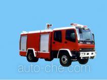 Sujie SJD5140GXFSG50W1 fire tank truck