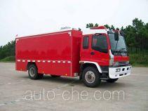 捷达消防牌SJD5140TXFGQ78W型供气消防车