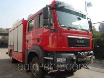 Jieda Fire Protection SJD5140TXFJY100/MEA fire rescue vehicle
