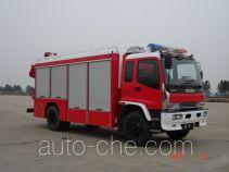 捷达消防牌SJD5140TXFJY75W型抢险救援消防车