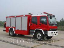苏捷牌SJD5140TXFQJ75W1型抢险救援消防车