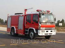 捷达消防牌SJD5141GXFPM50W1型泡沫消防车