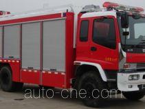 捷达消防牌SJD5141TXFJY75/W型抢险救援消防车