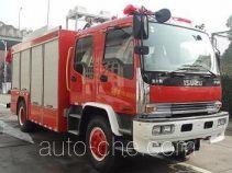 捷达消防牌SJD5142TXFJY75/W型抢险救援消防车