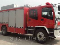 Jieda Fire Protection SJD5143TXFJY75/W fire rescue vehicle