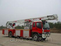 Sujie SJD5150JXFDG25 aerial platform fire truck