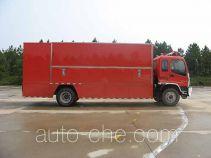 捷达消防牌SJD5150XXFQC150W型器材消防车