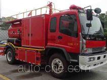 捷达消防牌SJD5151TXFGF40/WSA型干粉消防车