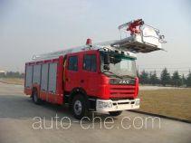 捷达消防牌SJD5160JXFDG16型登高平台消防车