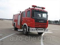 捷达消防牌SJD5160GXFPM50H型泡沫消防车