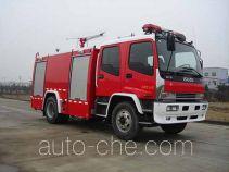捷达消防牌SJD5160GXFPM60W型泡沫消防车