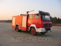 苏捷牌SJD5160GXFPM65Z型泡沫消防车