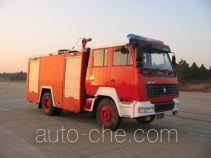 Sujie SJD5160GXFSG65 fire tank truck