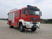 捷达消防牌SJD5160TXFJY100M型抢险救援消防车