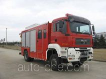 Jieda Fire Protection SJD5160TXFJY100M fire rescue vehicle
