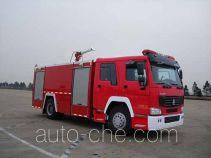 捷达消防牌SJD5190GXFPM80L型泡沫消防车