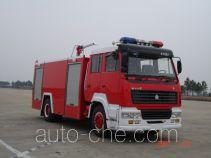 苏捷牌SJD5190GXFPM80Z型泡沫消防车