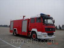 Sujie SJD5190GXFSG80Z fire tank truck