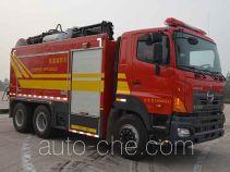 捷达消防牌SJD5190TXFBP200/G型泵浦消防车