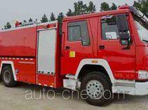 捷达消防牌SJD5200GXFPM80/L型泡沫消防车