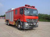 捷达消防牌SJD5200TXFJY120B型抢险救援消防车