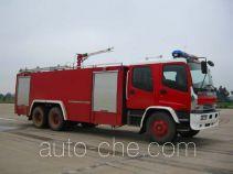 苏捷牌SJD5220GXFPM90W1型泡沫消防车