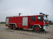 Sujie SJD5220GXFSG90W1 fire tank truck