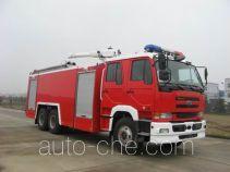 苏捷牌SJD5240GXFPM110U型泡沫消防车