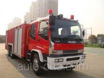 捷达消防牌SJD5240JXFJP28型举高喷射消防车
