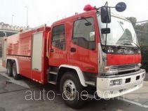 捷达消防牌SJD5241GXFPM120/W型泡沫消防车