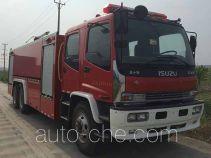 Jieda Fire Protection SJD5241GXFPM120/W foam fire engine