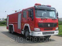 捷达消防牌SJD5250GXFPM120L型泡沫消防车