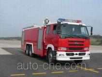 苏捷牌SJD5250GXFPM120U型泡沫消防车