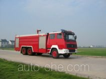 Sujie SJD5250GXFSG120 fire tank truck