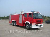 Sujie SJD5250GXFSG120U fire tank truck