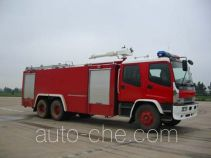 Sujie SJD5250GXFSG120W fire tank truck